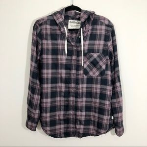3/$23 Garage Boyfriend Fit Flannel